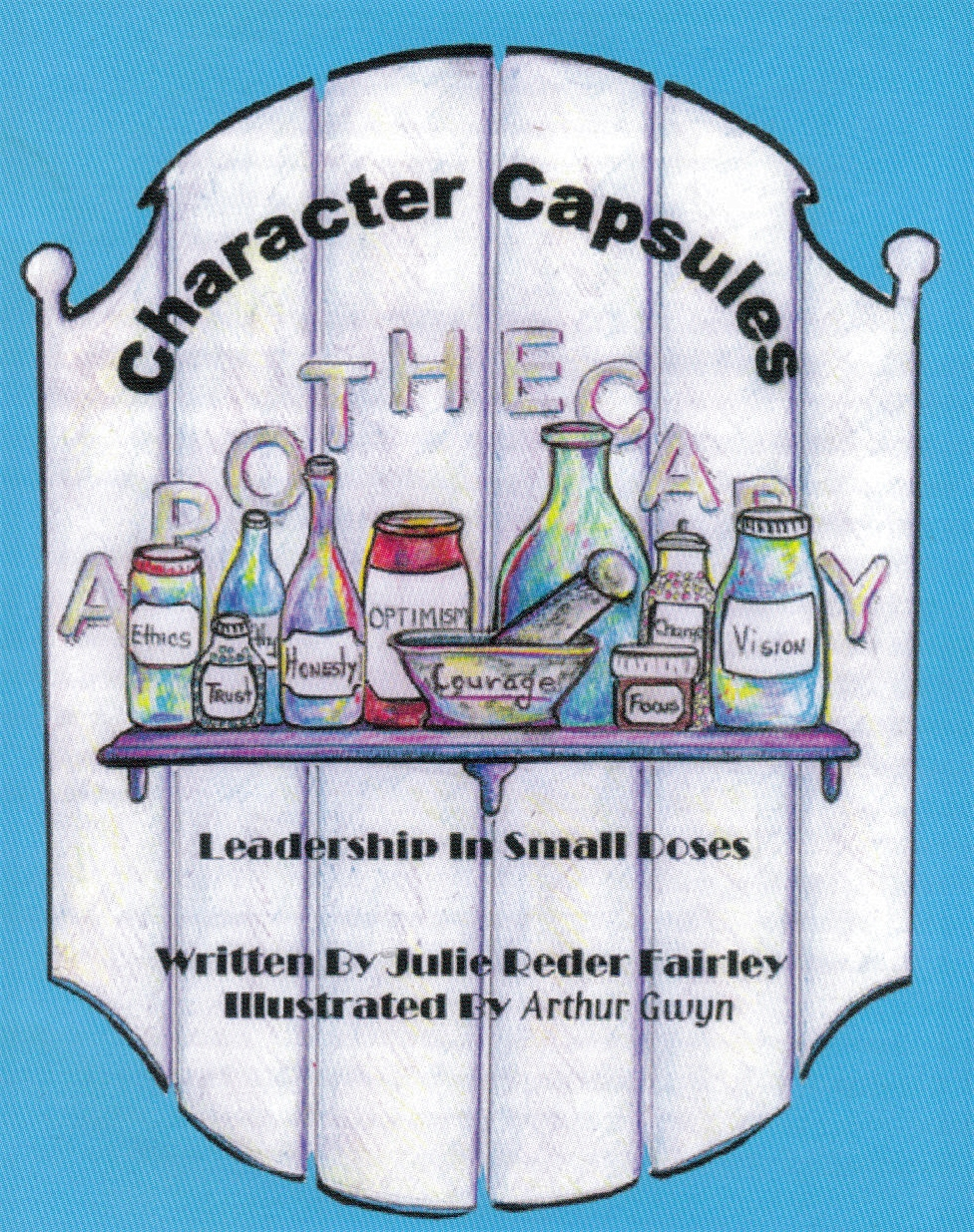 order character capsules by julie fairley